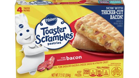 Pillsbury™ Bacon Toaster Scrambles - Front