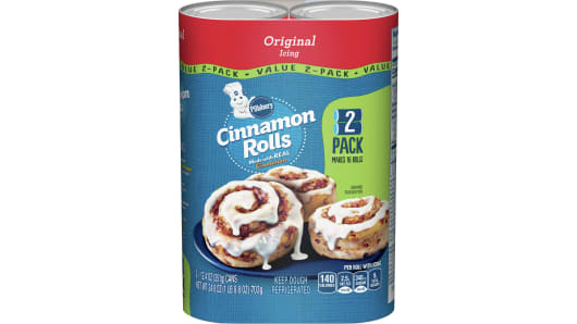 Pillsbury™ Cinnamon Rolls with Icing 2 Pack - Front