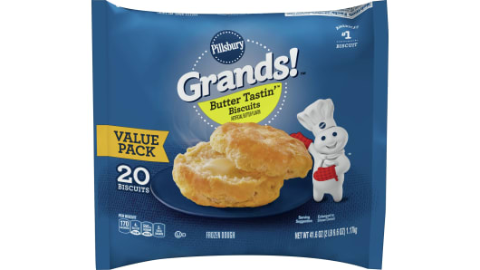 Grands!™ Butter Tastin' Frozen Biscuits (20 count) - Front