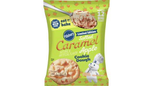 Pillsbury™ Ready to Bake!™ Limited Edition Salted Caramel Apple Cookie Dough - Front