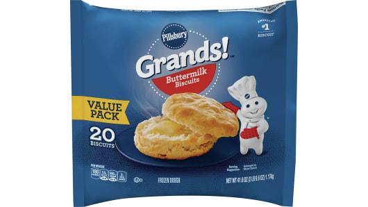 Grands!™ Buttermilk Frozen Biscuits (20 count) - Front