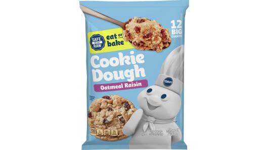 Pillsbury™ Ready to Bake!™ Oatmeal Raisin Cookie Dough - Front