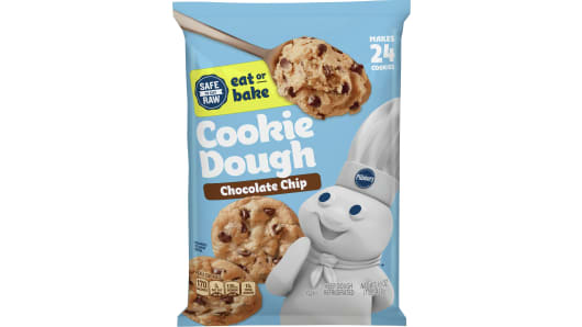 Pillsbury™ Ready to Bake!™ Chocolate Chip Cookie Dough (24 count) - Front