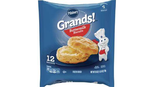 Grands!™ Buttermilk Frozen Biscuits (12 count) - Front