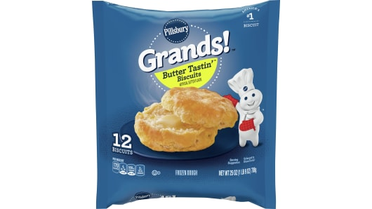 Grands!™ Butter Tastin'™ Frozen Biscuits (12 count) - Front