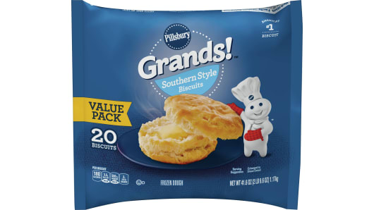 Grands!™ Southern Style Frozen Biscuits (20 count) - Front