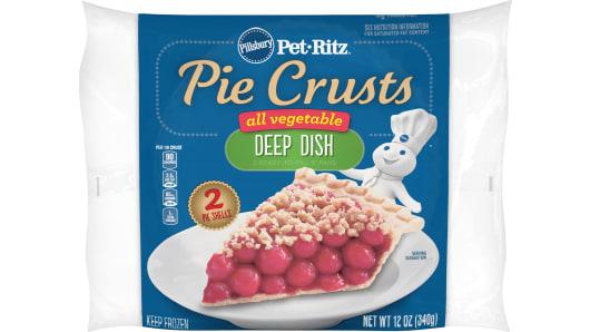 Pillsbury™ Pet-Ritz™ frozen All Vegetable Deep Dish Pie Crusts - Front