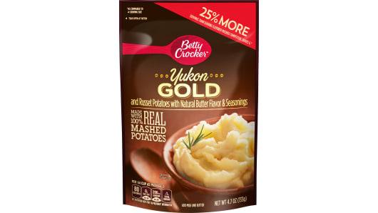 Betty Crocker Yukon Gold Mashed Potatoes - Front