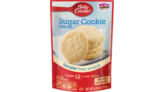 Betty Crocker™ Snack Size Sugar Cookie Mix - Front
