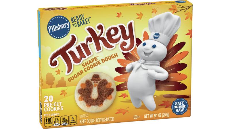 Pillsbury Shape Sugar Cookie Dough