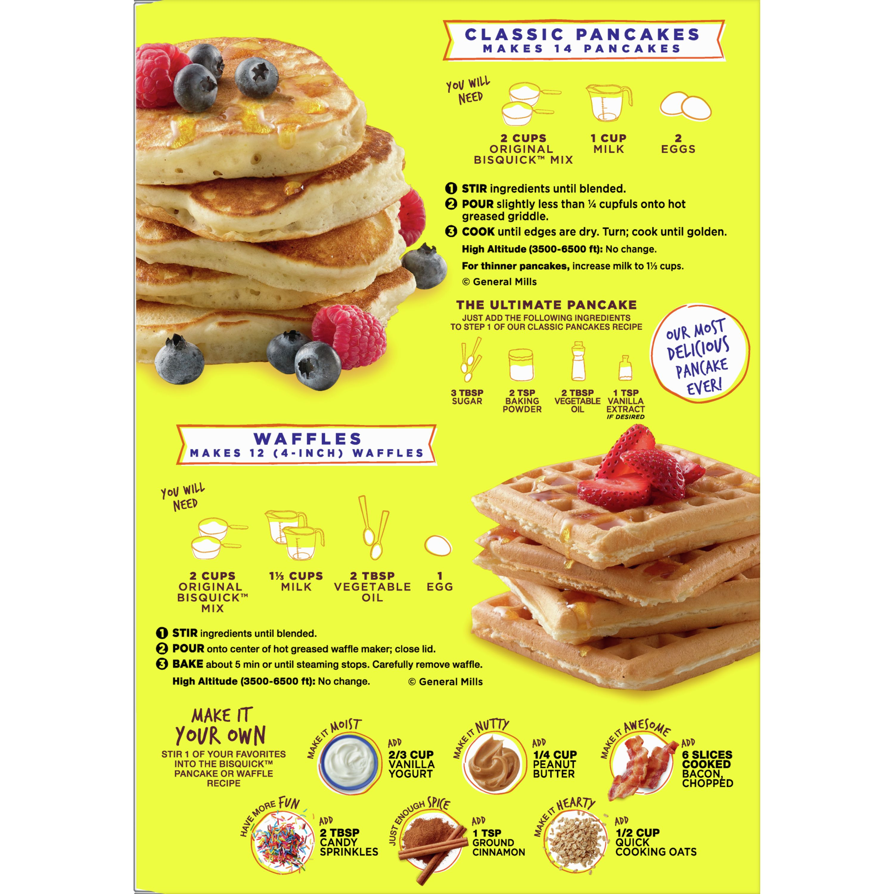 Pancake Recipe With Biscuit Mix
