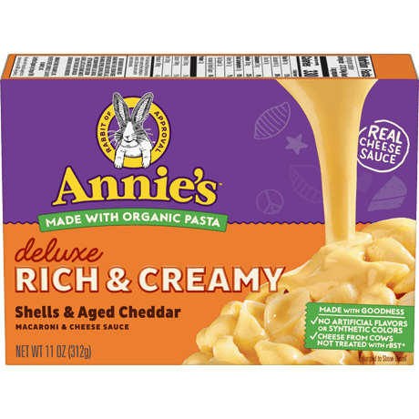 Deluxe Rich and Creamy Shells & Aged Cheddar Mac and Cheese