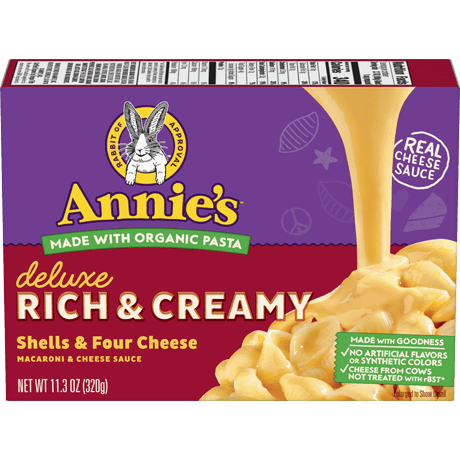 Deluxe Rich and Creamy Shells & Four Cheese Mac and Cheese
