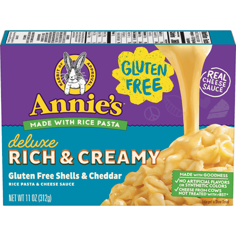Gluten Free Deluxe Rich and Creamy Shells & Cheddar Mac and Cheese