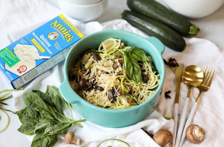 Gluten Free Quinoa Zucchini Mac