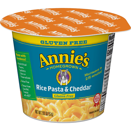 Gluten Free Rice Pasta & Cheddar Microwavable Mac Cup