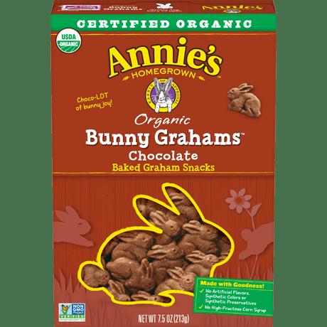 Organic Chocolate Bunny Grahams
