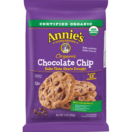 Organic Chocolate Chip Cookie Bake and Share Dough