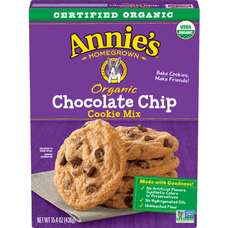 Organic Chocolate Chip Cookie Mix