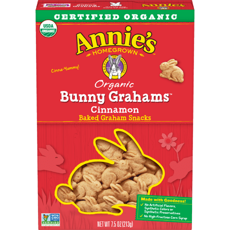 Organic Cinnamon Bunny Grahams
