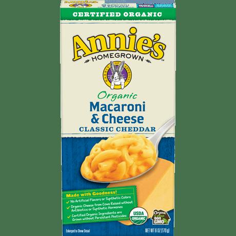 Organic Classic Cheddar Mac and Cheese