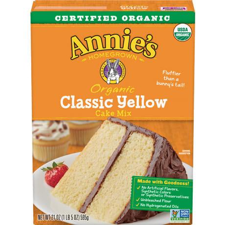 Organic Classic Yellow Cake Mix