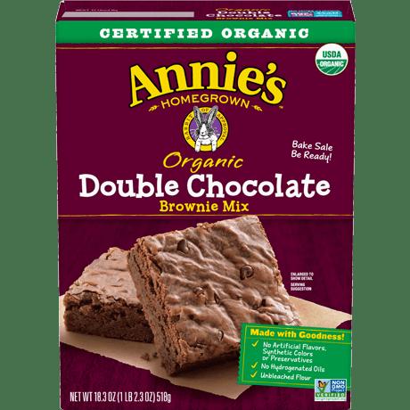 Organic Double Chocolate Brownie Mix