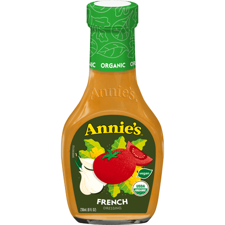 Bottle of Annie's Organic French Dressing