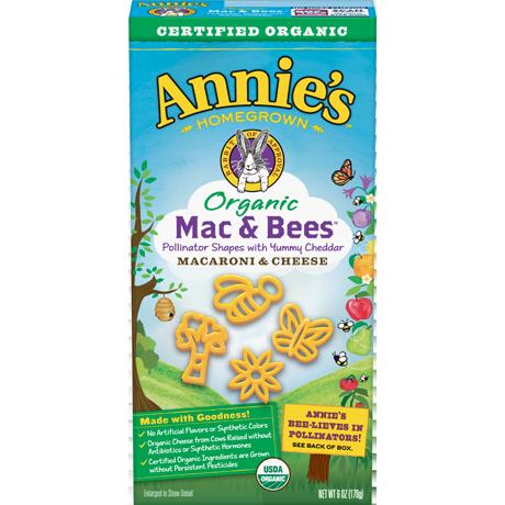 Organic Mac & Bees Mac and Cheese