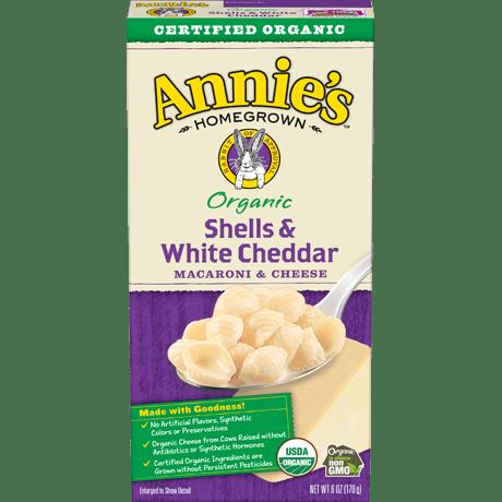 Organic Shells & White Cheddar Mac and Cheese