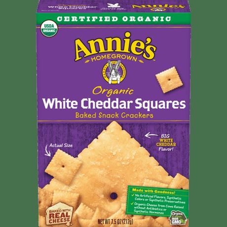 Organic White Cheddar Squares