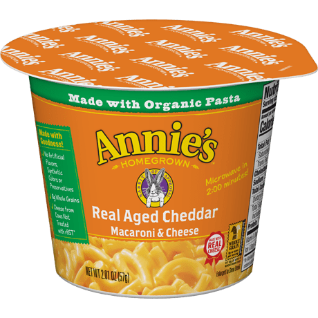 Real Aged Cheddar Microwavable Mac and Cheese Cup