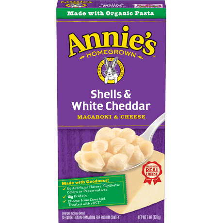 Shells and White Cheddar Mac and Cheese