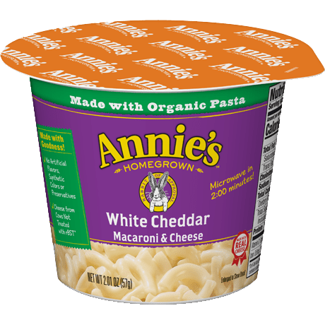 White Cheddar Microwavable Mac & Cheese Cup