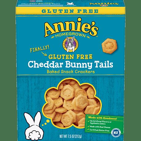 Gluten Free Cheddar Bunny Tails