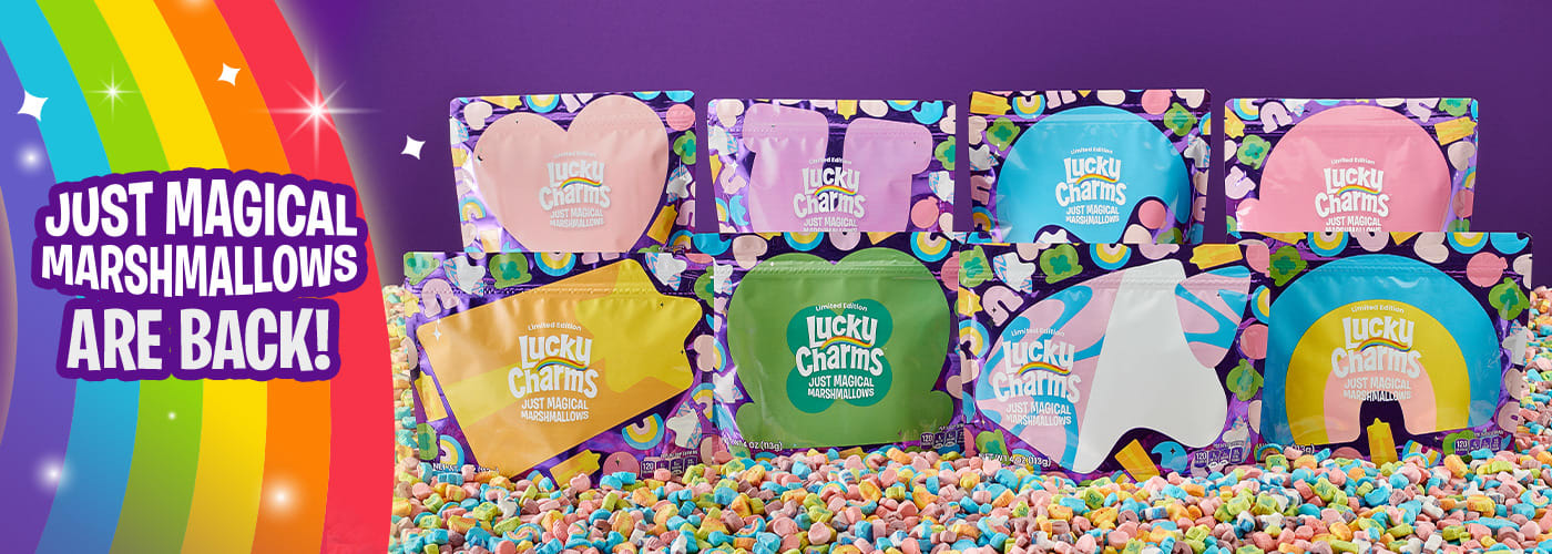 Just Magical Marshmallows Pouches