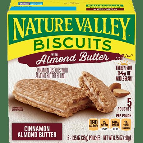 Cinnamon Almond Butter Biscuit Sandwiches