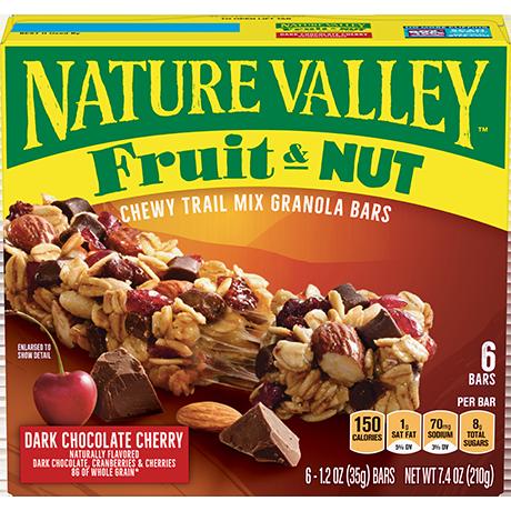 Dark Chocolate Cherry Fruit & Nut Bars