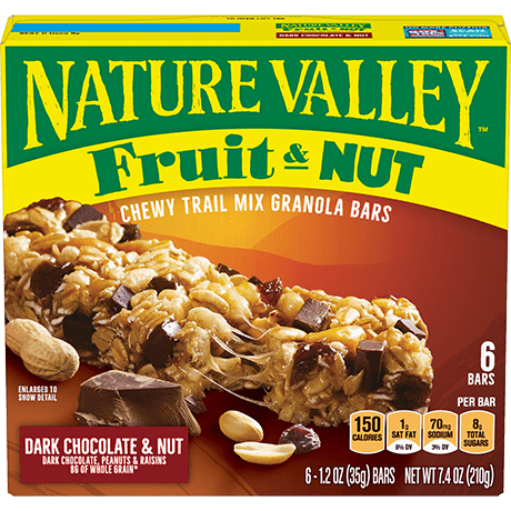 Dark Chocolate & Nut Fruit & Nut Bars