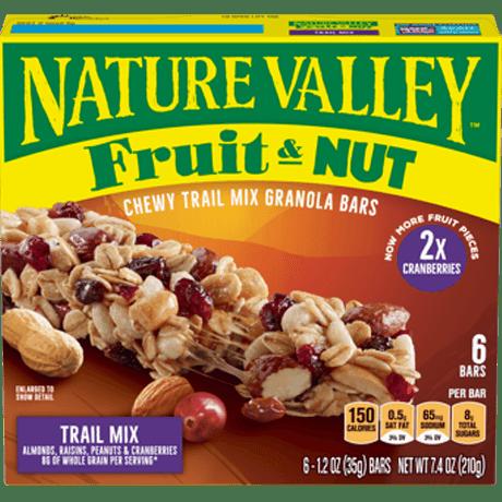 Trail Mix Fruit & Nut Bars