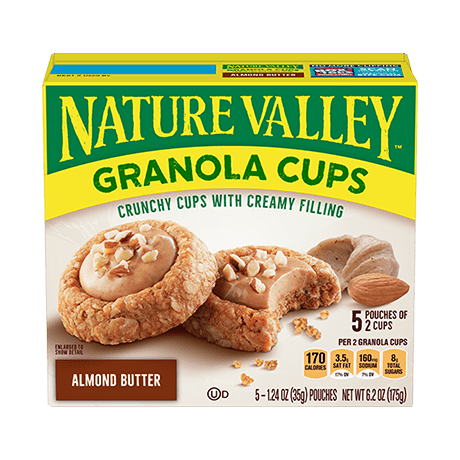 Almond Butter Granola Cups