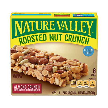 Almond Crunch Roasted Nut Crunch