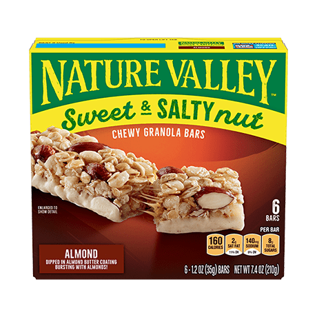 Almond Sweet & Salty Granola Bars