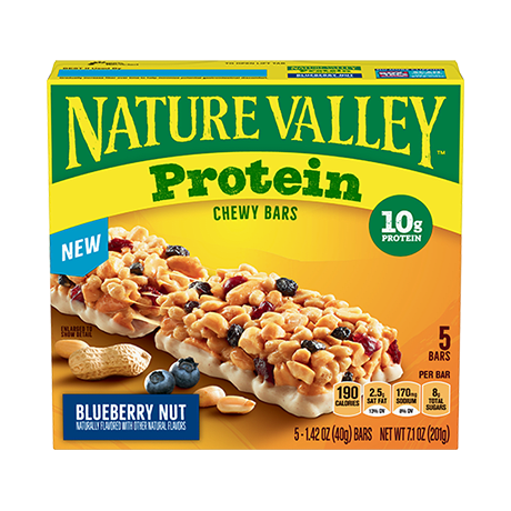 Blueberry Nut Protein Bars