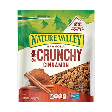 Cinnamon Big & Crunchy Granola