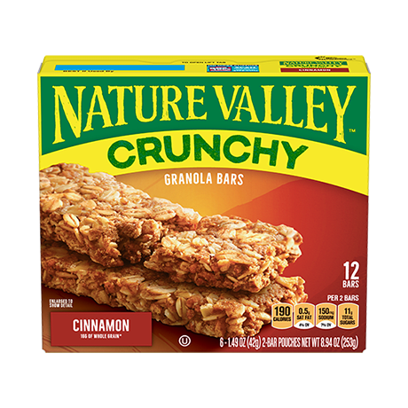 Cinnamon Crunchy Granola Bars