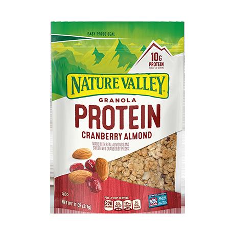 Cranberry Almond Protein Granola