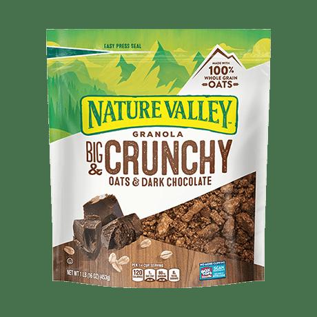 Crunchy Oats & Dark Chocolate Granola