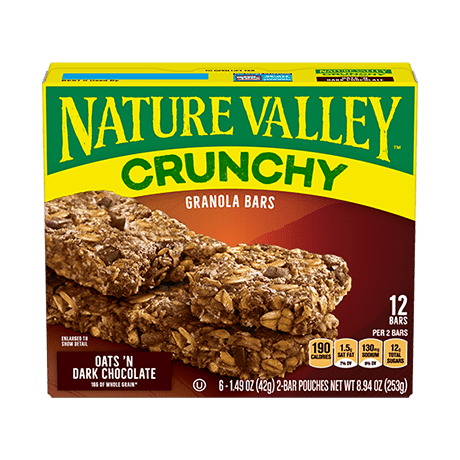 Oats 'n Dark Chocolate Crunchy Granola Bars
