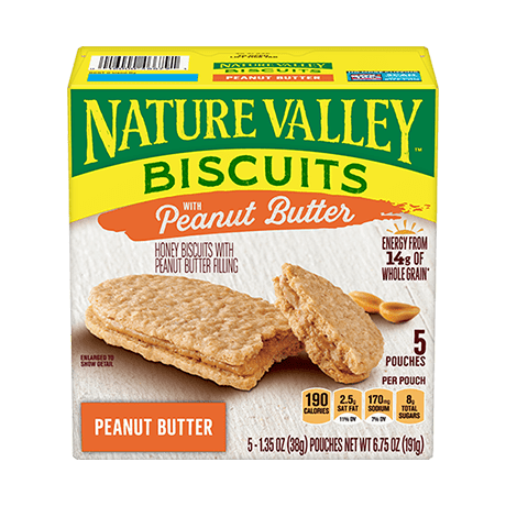 Peanut Butter Biscuit Sandwiches